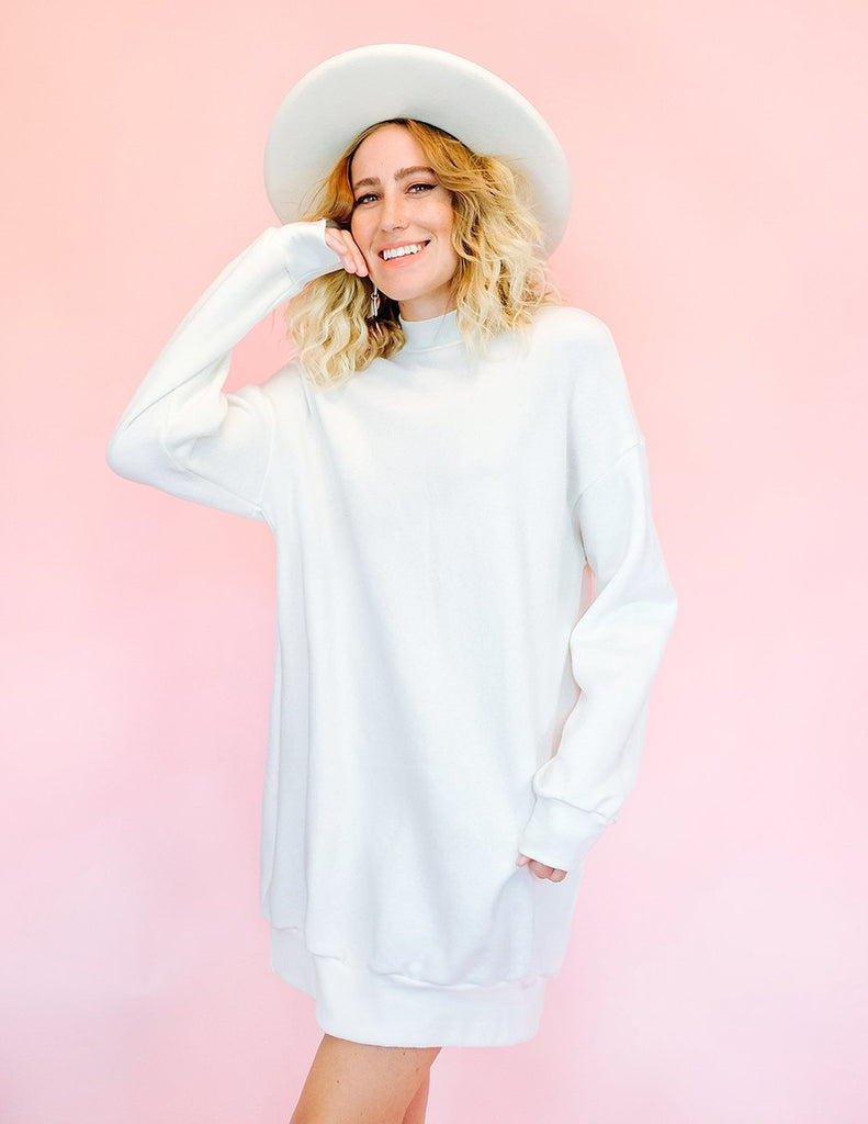 Softie Dress - Creme