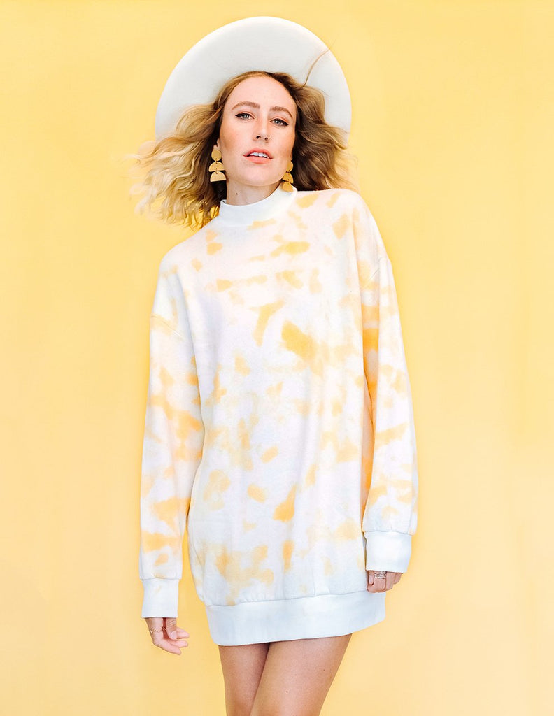 Softie Dress - Gold Dust Tie Dye