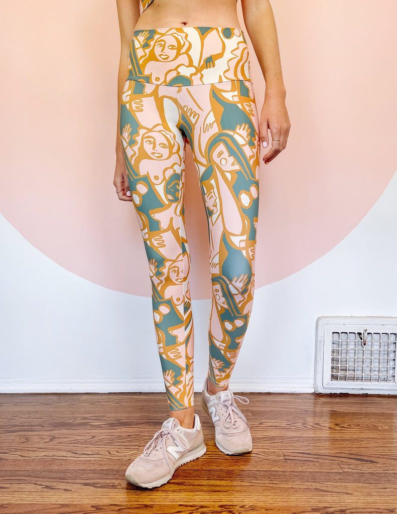 We Are One Print Leggings