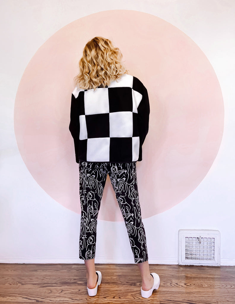Lu Jacket (checkered) **PRE-ORDER**