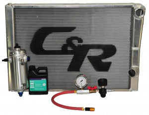 RACING AND PERFORMANCE RADIATORS WITH C&R RACING