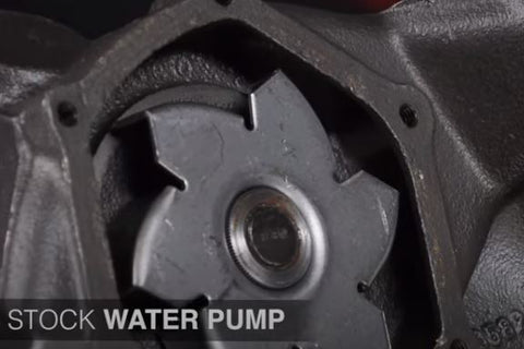 STOCK IMPELLER WATER PUMP