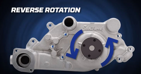 Edelbrovk reverse rotation water pump