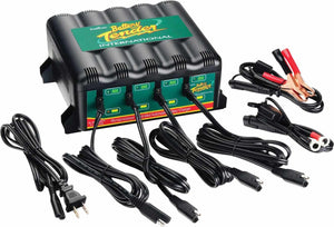 4 Bank Battery Tender Plus