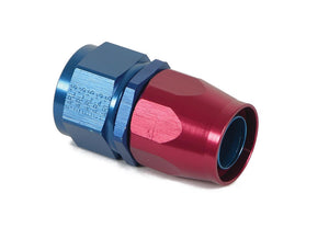 Earls Straight Swivel-Seal® Hose End AN -16 - Red/Blue - (CFRL_800116ERL)