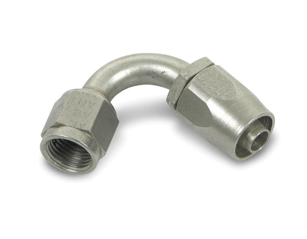 Earls 120 Degree Auto-Fit Hose End AN -6 - Stainless Steel - (CFRL_492006ERL)