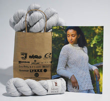 Load image into Gallery viewer, Elsebeth-Lavold-Kit Rikki Sweater in Misty Wool