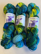 Load image into Gallery viewer, Purple Lamb: Sparkly Merino Sock