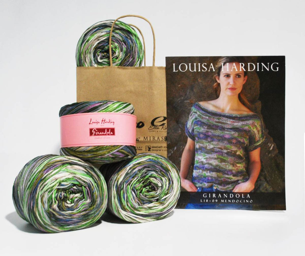 Louisa-Harding-Kit Mendocino Top in Girandola