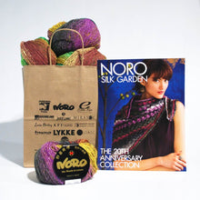 Load image into Gallery viewer, Noro-Kit Hyacinth Stitch Shawl in Silk Garden Lite