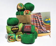 Load image into Gallery viewer, Noro-Kit Woven Stitch Blanket in Taiyo/Cozy Soft Chunky