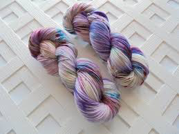 Purple Lamb: Cashmere Sock