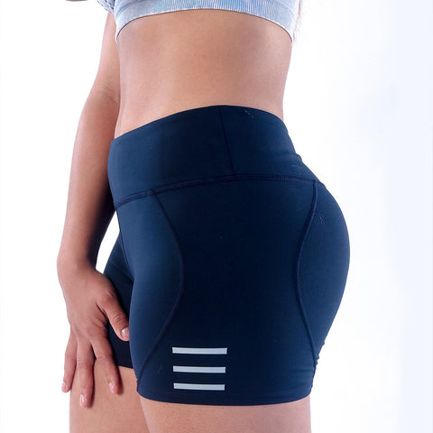 Bodied Blue Yoga Training Shorts