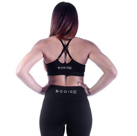 Bodied Black Active Sports Bra