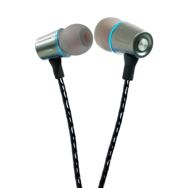 Earphone with volume control