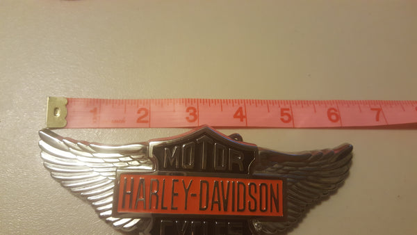 Harley Davidson belt buckle, motorcycles, fashion belt, HD