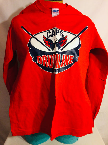 Washington Capitals Drumline Long Sleeve TShirt