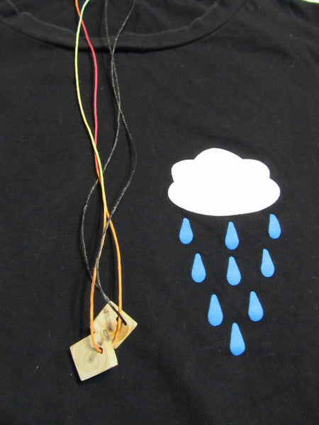 SPECIAL DEAL!!! Rain Cloud Black Short Sleeve T-Shirt, FREE Shipping