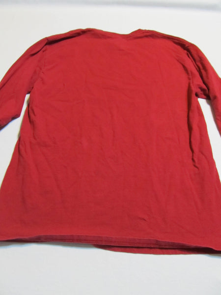 I may live in NY but I'm a CAPITALS fan forever! Medium Red Long Sleeve T Shirt, FREE Shipping