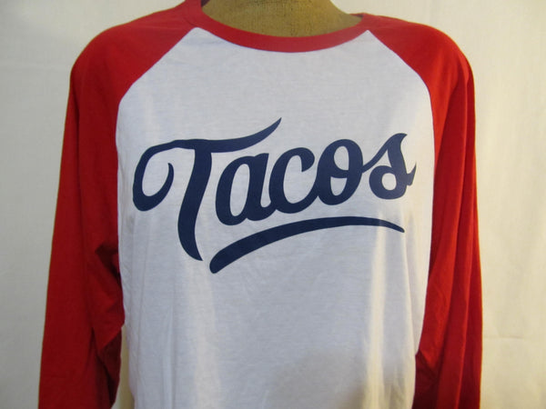 Tacos Long Sleeve T-Shirt, FREE Shipping