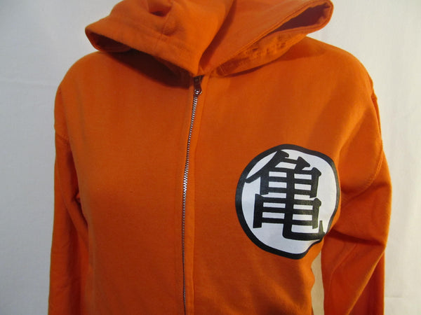 Dragonball Z Small Orange Sweatshirt, FREE Shipping