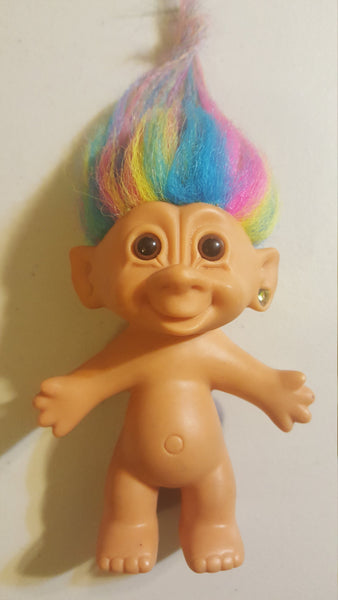 Vintage 1980's Troll Doll, free shipping, ONLY ONE LEFT!!! Free Shipping