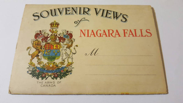 Niagara Falls Post Cards, booklet
