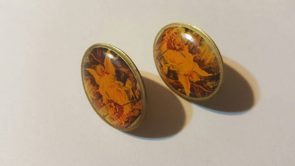 Angel Pins 2, Jewelry, Angels, Brooches, Vintage Jewelry, gifts for Angels, FREE Shipping