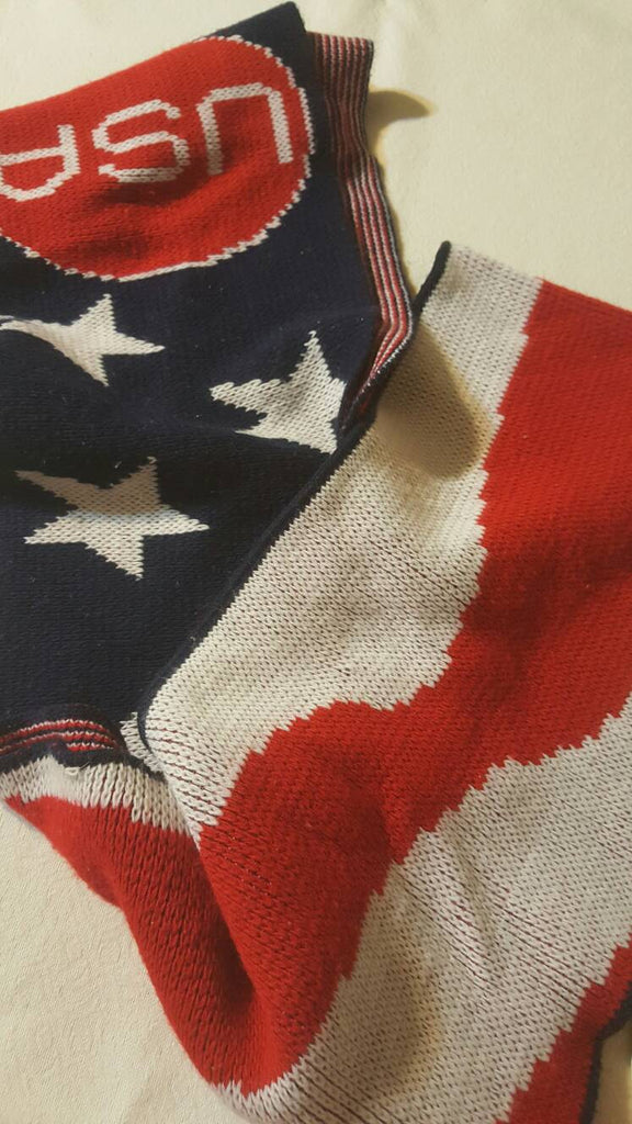USA Knitted Scarf