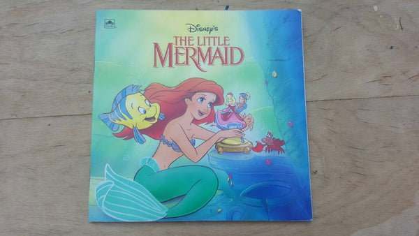 The Little Mermaid, Disney book, free shipping