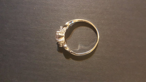 Silver Ring, Ladies Size 8.5
