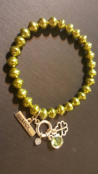green luck chance bracelet, FREE Shipping