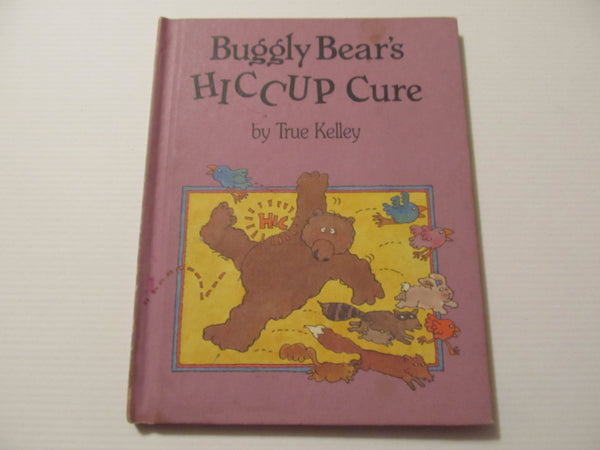 Vintage Childrens Book, Buggly Bears HICCUP Cure, free shipping