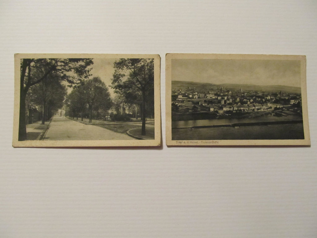 Two Landscape Scenic Postcards, FREE SHIPPING