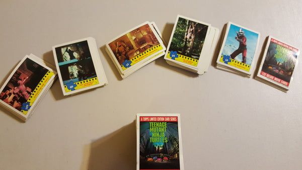 TMNT Movie CARDS, Over 130 cards! The Topps Company inc, plus the 11 sticker set!