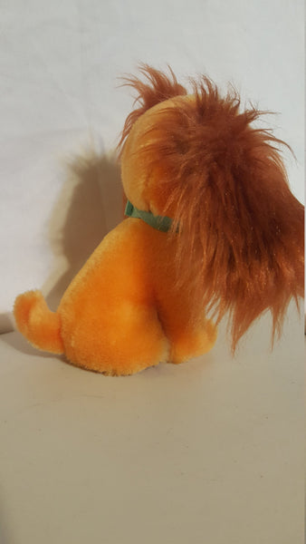 Lady, from walt disneys Lady and the Tramp movie, plush character, free shipping