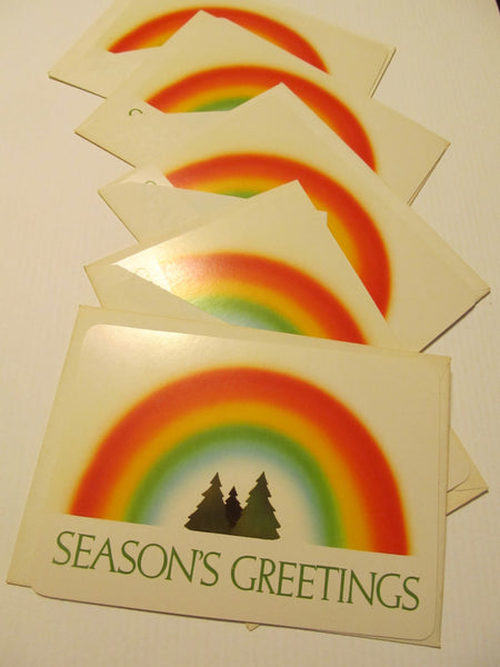 Seasons Greetings Postcard, Greeting Card, FREE SHIPPING