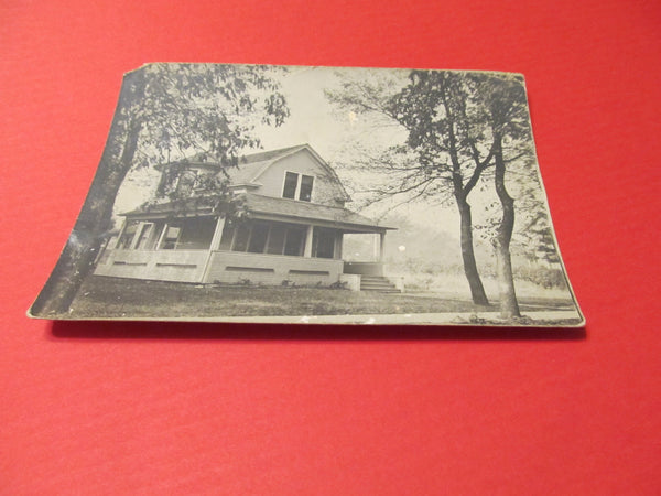 Landscape, Home Sweet Home, Country Farmhouse, RPPC Postcard, FREE Shipping