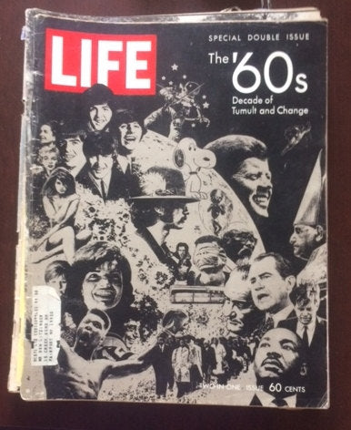 Special DOUBLE Issue, the '60s Decade of change, LIFE Magazine
