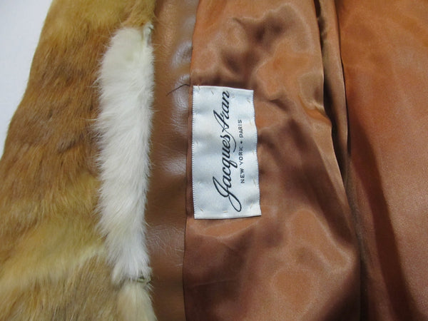 Jacques Aran, New York, Paris, Fur Coat, Fur Jacket, Rabbit Fur, Rabbit Fur, Vintage, Ladies Winter Warm Jacket, epsteam, Genuine Fur, Real