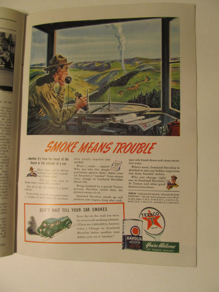 Time Magazine, May 5, 1941, Military, World War II, History, 1940's Classic Car Advertisements, Paper Ephemera, Memories, FREEshipping