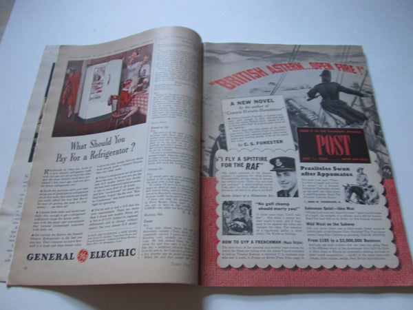 Time Magazine, March 5, 1941, 1940s, WWII, History, Advertisements, Paper Ephemera, Memories, Stage Props, Authentic, FREE shipping