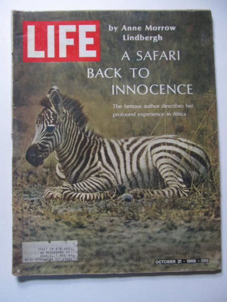 October 21, 1968, A Sarari Back to Innocence, LIFE Magazine, Batman inside!