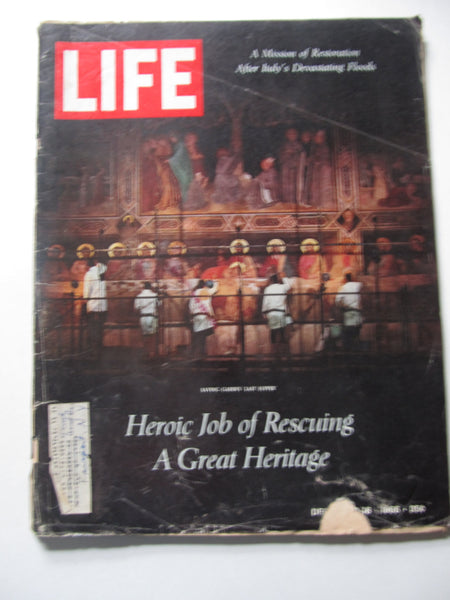 Heroic Job of Rescuing a Great Heritage, LIFE Magazine