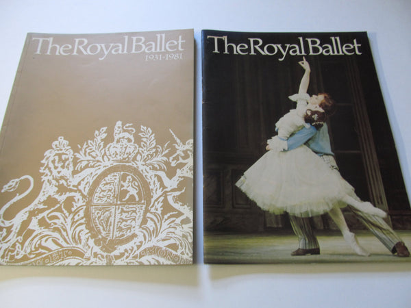 The Royal Ballet, Programs, Paperback Books, Magazines, the Royal Opera House, ballet souvenirs, opera souvenirs, Kennedy Center shows