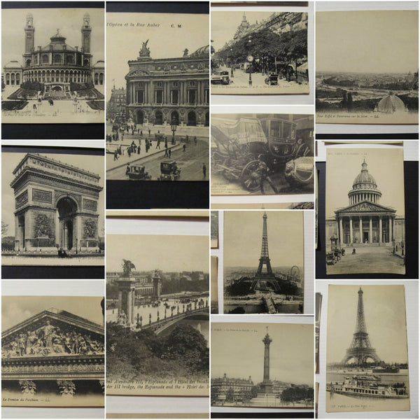 Levy Fils & Co, Paris France Postcards, unused, FREE SHIPPING