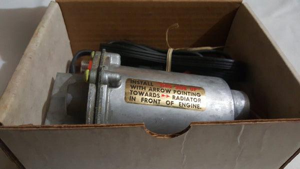 Sears 800 watt electric, In-line engine heater, Gear heads, Garage Bums, Classic restoration, Restored Antique Vehicles, Original, Free Ship