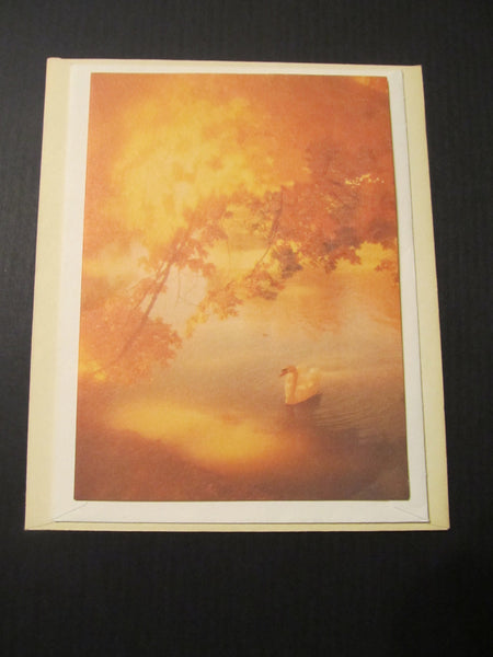 BLANK Montag Note by Mead Corp 1979 Greeting Card, FREE SHIPPING