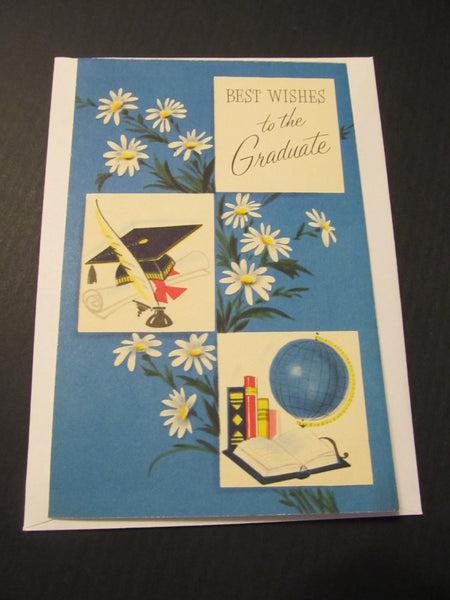Best Wishes to the Graduate! Greeting Card, FREE SHIPPING