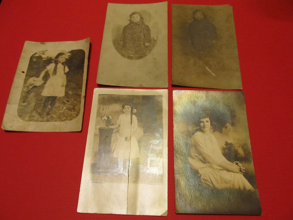 A Child's Life, A Women's Life, Blossoming.. Four Postcards and a Photograph, FREE SHIPPING